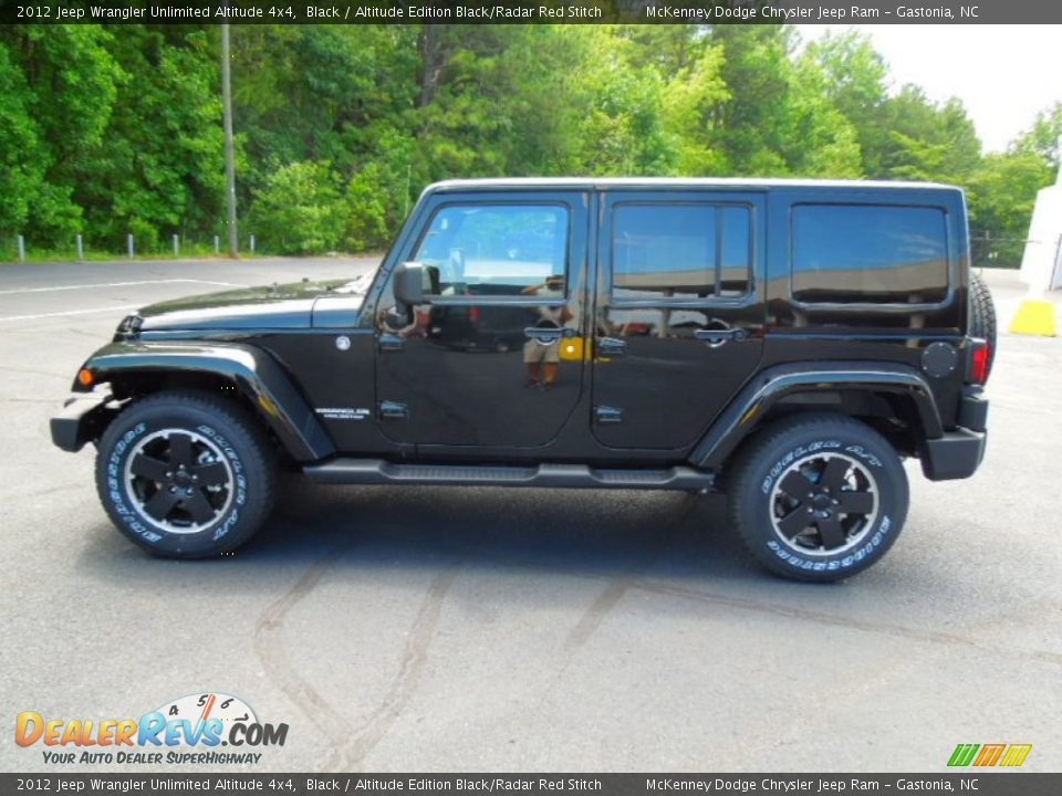 black 2012 jeep wrangler unlimited altitude 4x4 photo 3. Cars Review. Best American Auto & Cars Review