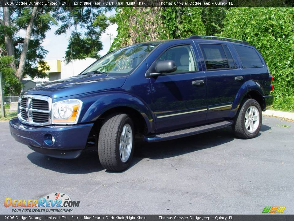 2006 Dodge Durango Limited Hemi Patriot Blue Pearl Dark