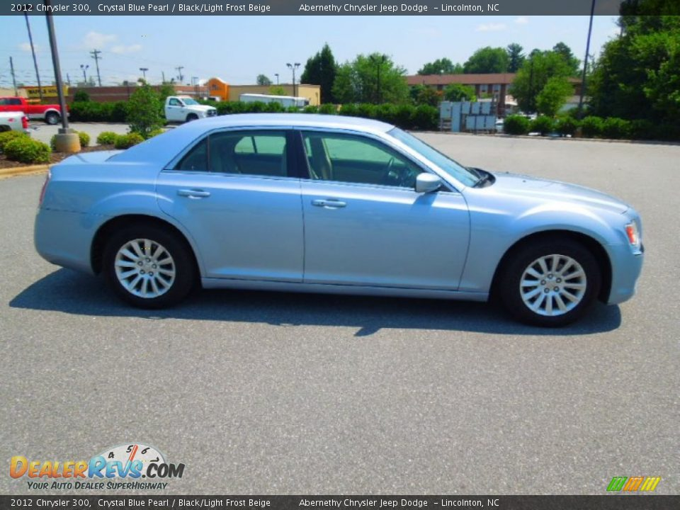 2012 Chrysler 300 Crystal Blue Pearl Black Light Frost
