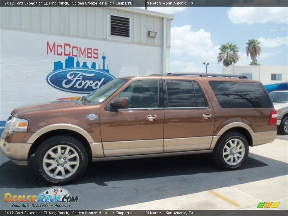 2012 ford expedition el king ranch golden bronze metallic. Black Bedroom Furniture Sets. Home Design Ideas