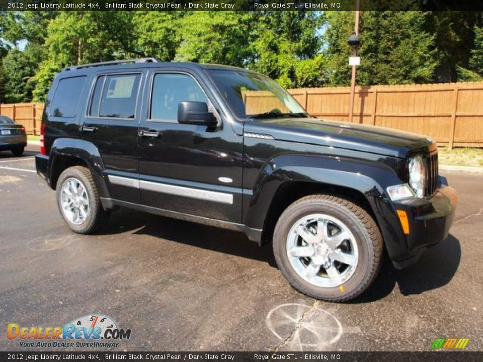 2012 Jeep Liberty Latitude 4x4 Brilliant Black Crystal ...
