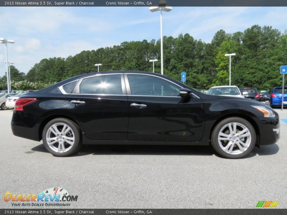 2013 Nissan Altima 3 5 Sv Super Black Charcoal Photo 6