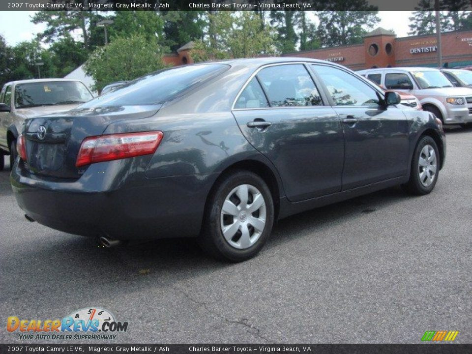 2007 toyota camry le v6 magnetic gray metallic ash photo 4 dealerrevs com