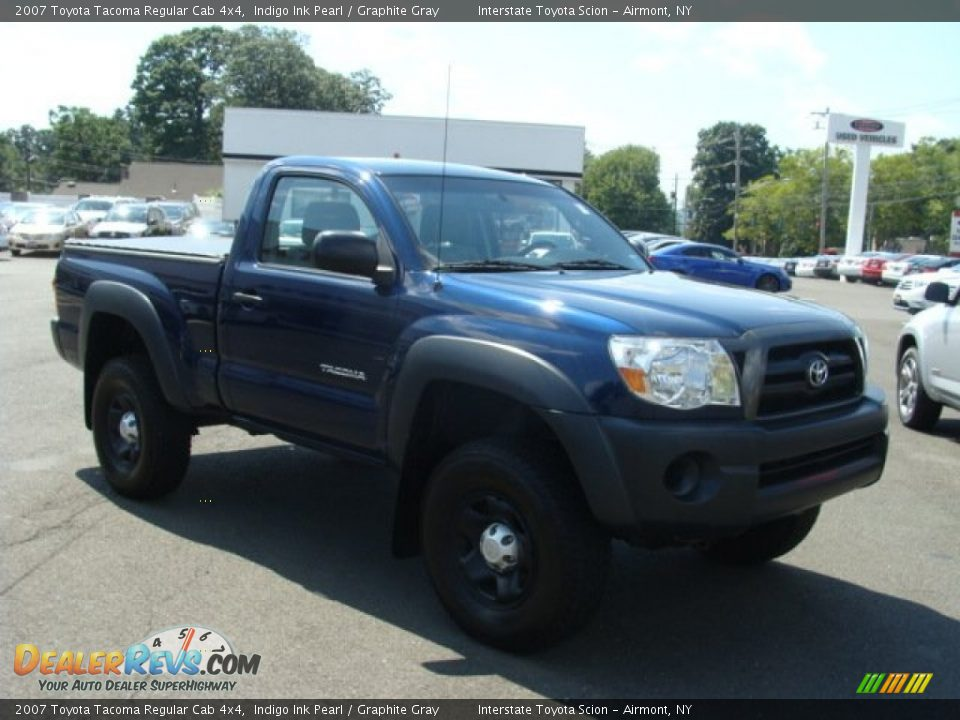 2007 toyota tacoma regular cab 4x4 indigo ink pearl graphite gray photo 3. Black Bedroom Furniture Sets. Home Design Ideas