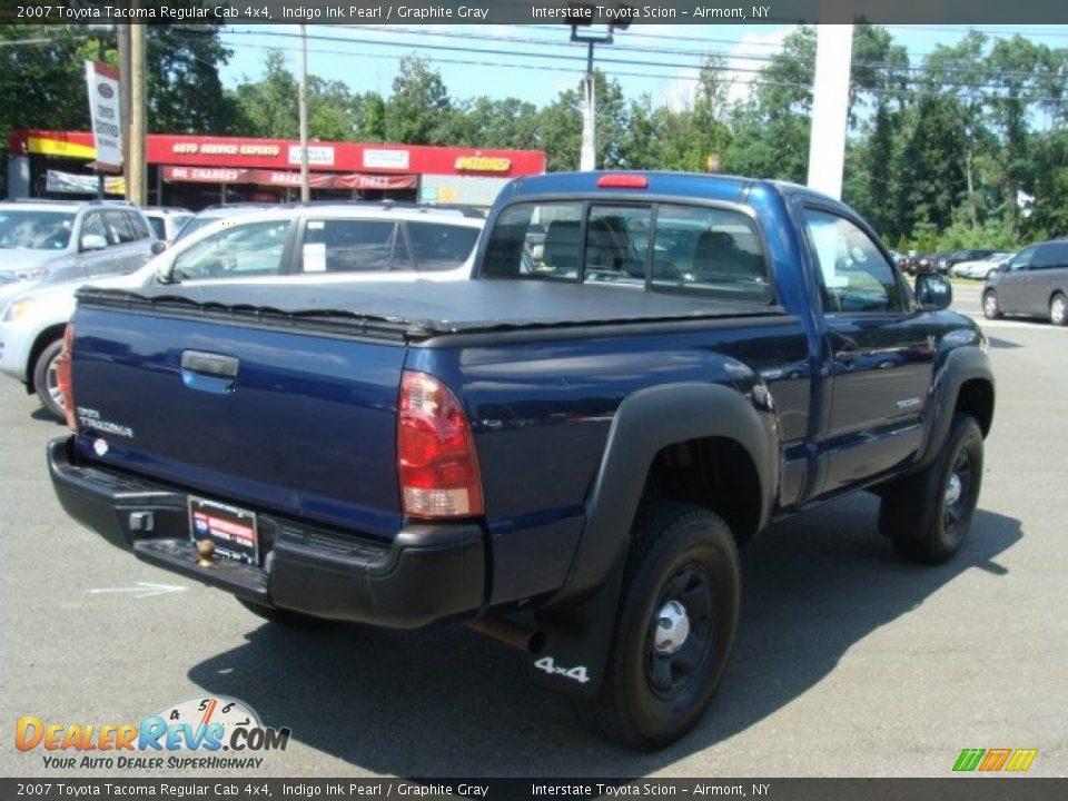 2007 Toyota Tacoma Regular Cab 4x4 Indigo Ink Pearl