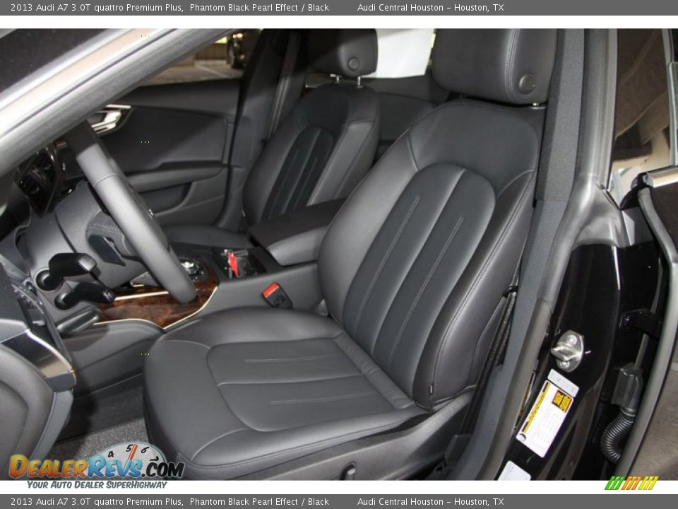 front seat of 2013 audi a7 3 0t quattro premium plus photo. Black Bedroom Furniture Sets. Home Design Ideas