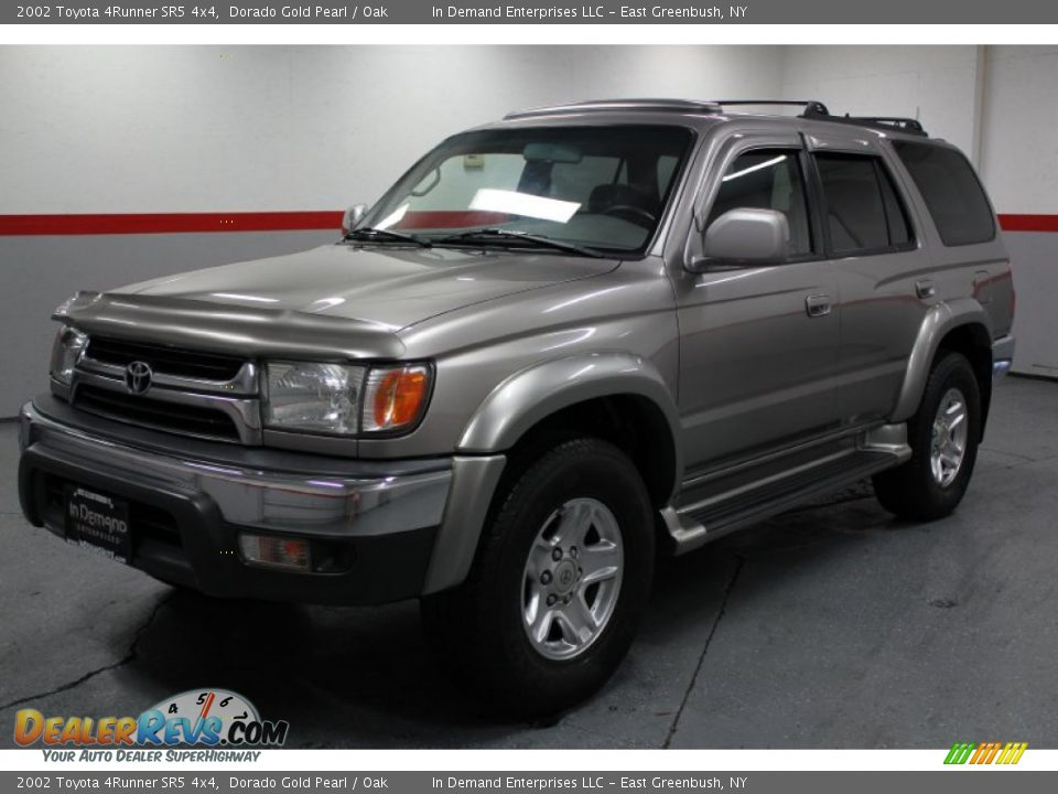 2002 Toyota 4runner Sr5 4x4 Dorado Gold Pearl Oak Photo