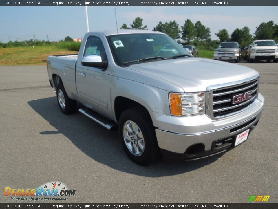 2012 Gmc Sierra 1500 Sle Regular Cab 4x4 Quicksilver