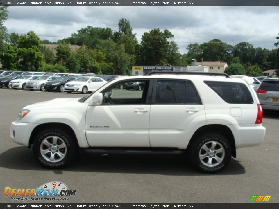 2008 Toyota 4runner Sport Edition 4x4 Natural White