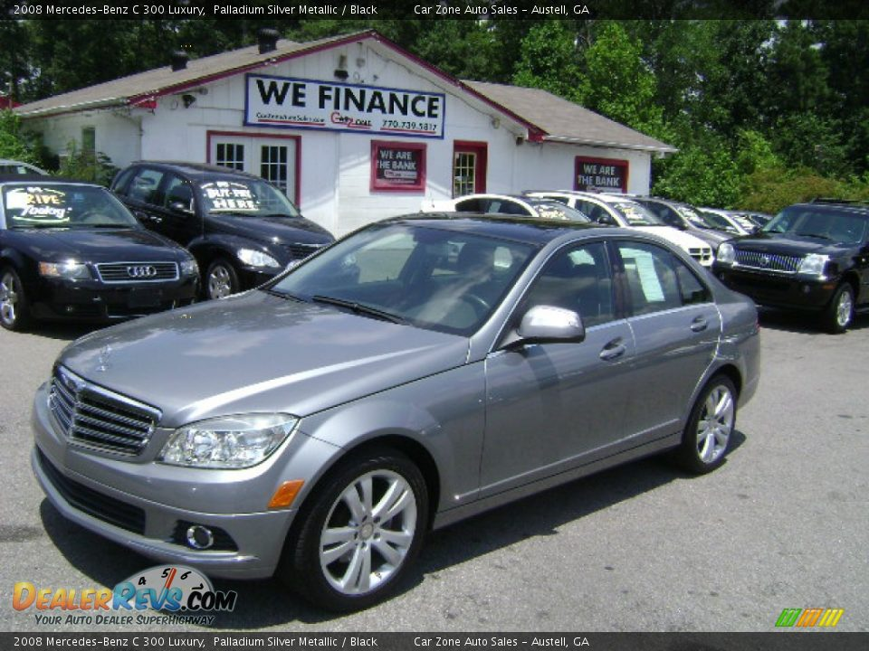 2008 Mercedes Benz C 300 Luxury Palladium Silver Metallic