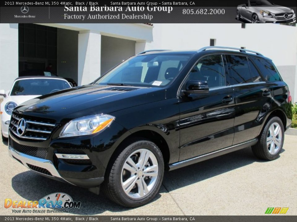 2013 mercedes benz ml 350 4matic black black photo 1 for Mercedes benz 350 ml 2013