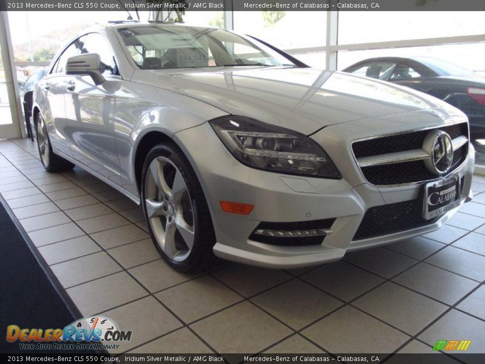 2013 mercedes benz cls 550 coupe iridium silver metallic for Mercedes benz amg 550