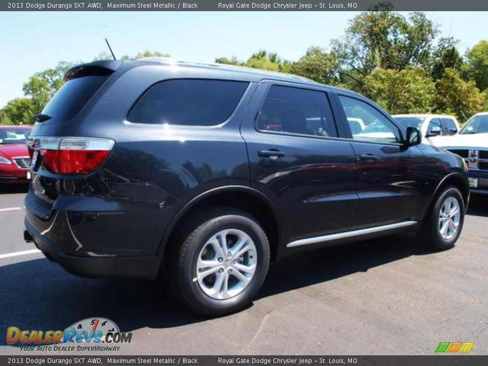 Maximum Steel Metallic 2013 Dodge Durango Sxt Awd Photo 3
