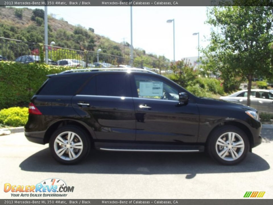 2013 mercedes benz ml 350 4matic black black photo 3 for Mercedes benz 350 ml 2013