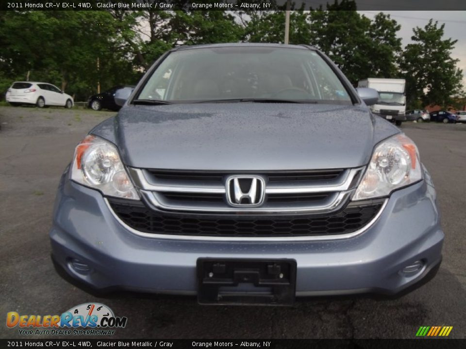 2011 honda cr v ex l 4wd glacier blue metallic gray photo 2. Black Bedroom Furniture Sets. Home Design Ideas