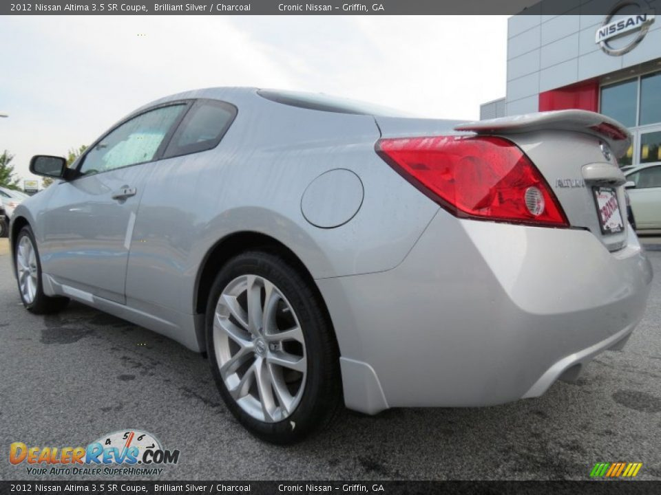 2012 nissan altima 3 5 sr coupe brilliant silver charcoal photo 3. Black Bedroom Furniture Sets. Home Design Ideas