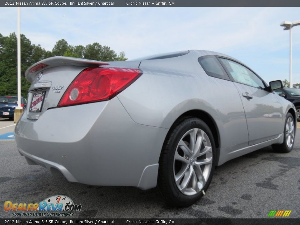2012 nissan altima 3 5 sr coupe brilliant silver charcoal photo 5. Black Bedroom Furniture Sets. Home Design Ideas