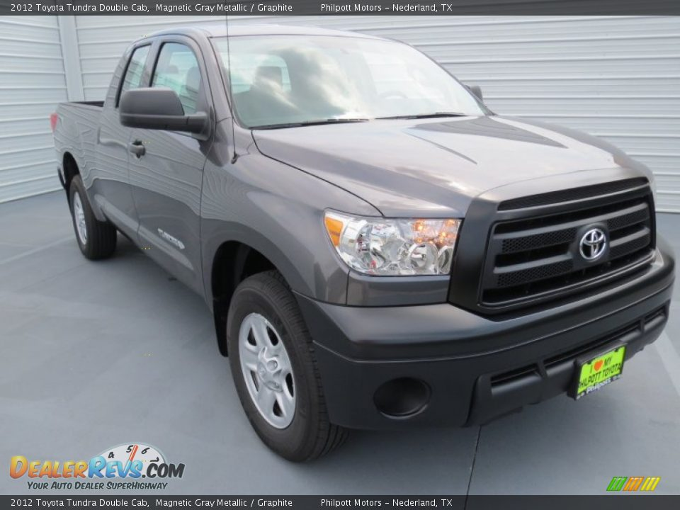 2012 Toyota Tundra Double Cab Magnetic Gray Metallic