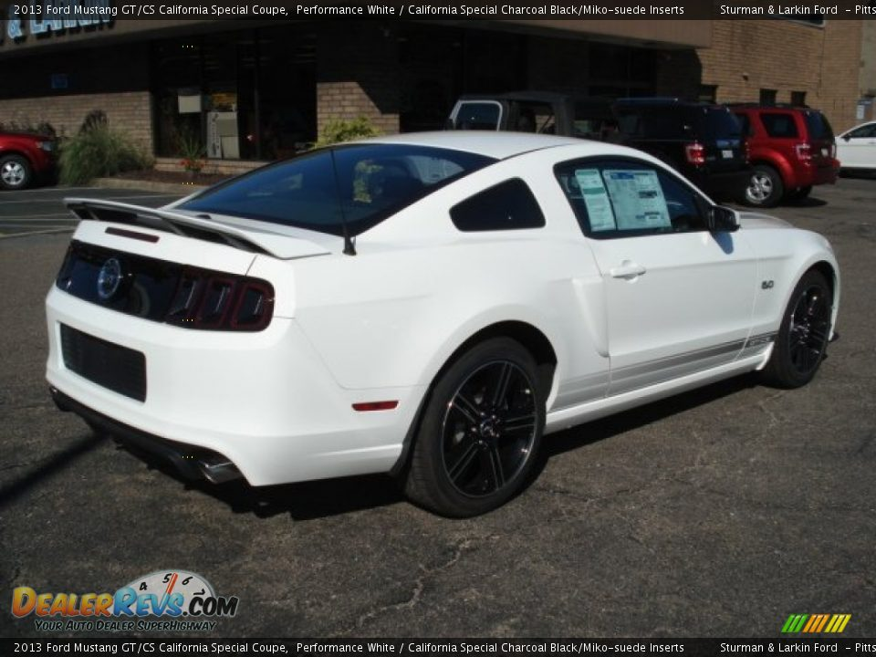 performance white 2013 ford mustang gt cs california special coupe photo 6. Black Bedroom Furniture Sets. Home Design Ideas