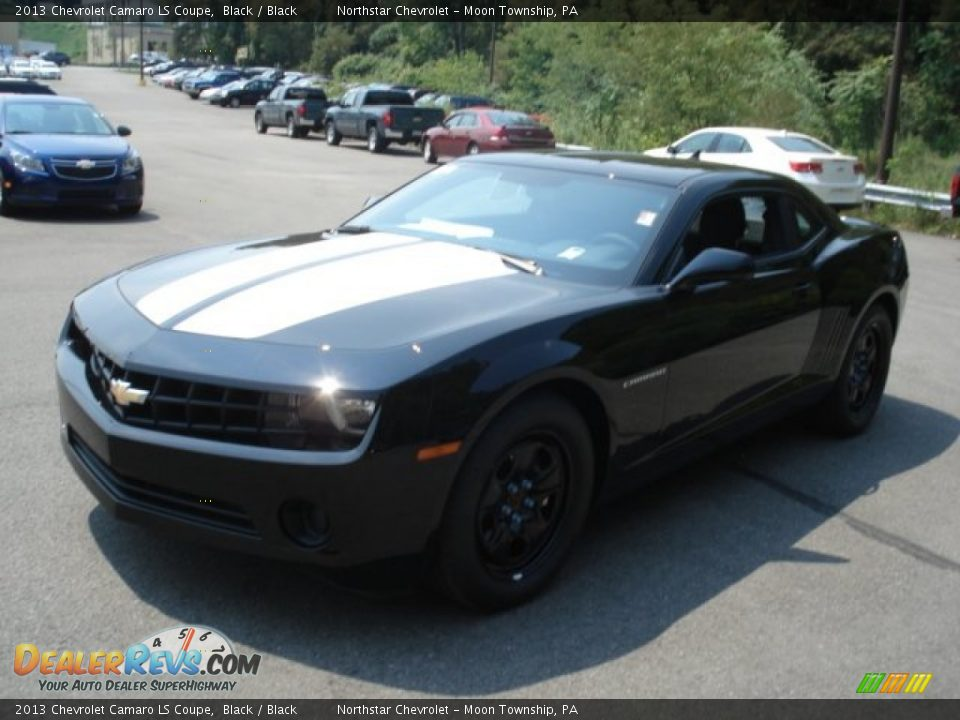 2013 chevrolet camaro ls coupe black black photo 4. Black Bedroom Furniture Sets. Home Design Ideas