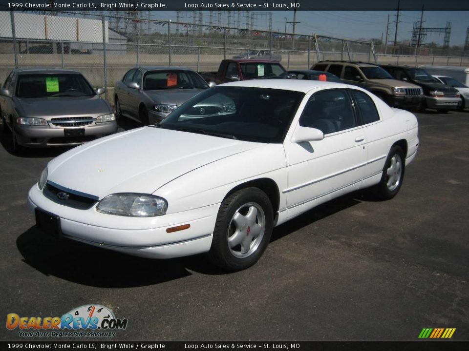 1999 chevrolet monte carlo ls bright white graphite. Black Bedroom Furniture Sets. Home Design Ideas