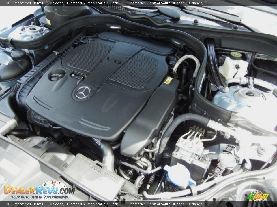 2013 mercedes benz e 350 sedan 3 5 liter di dohc 24 valve for Mercedes benz 3 5 v6 engine