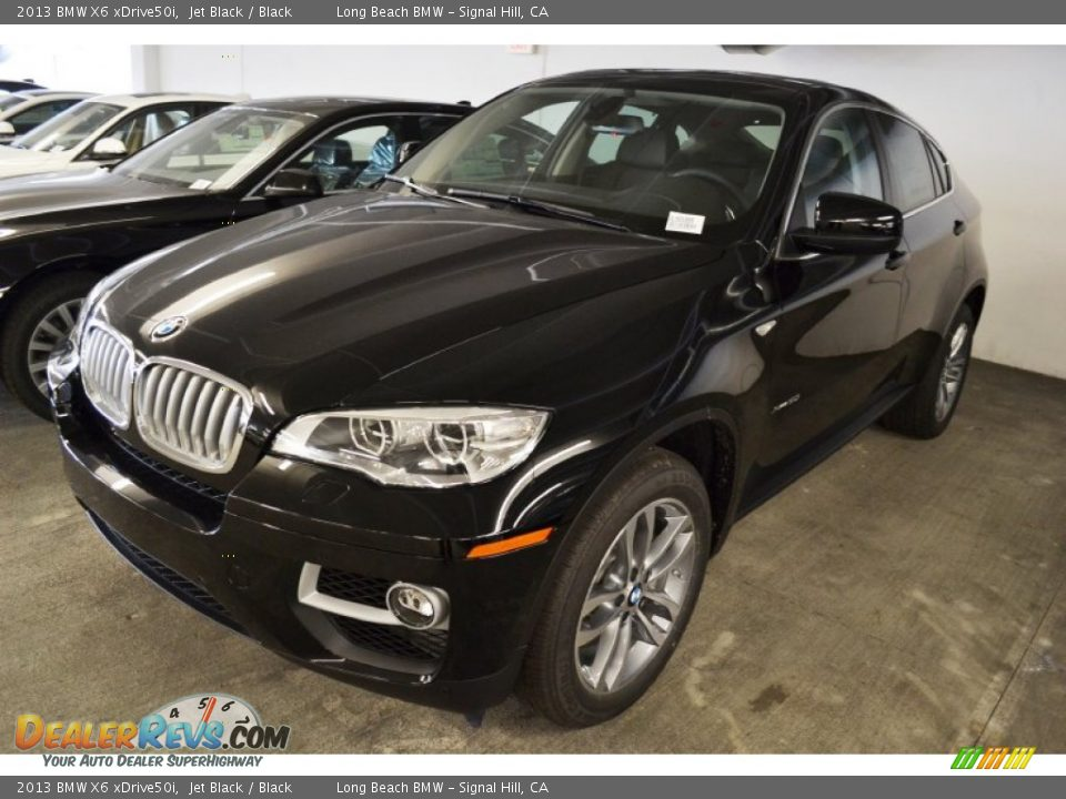 2013 Bmw X6 Xdrive50i Jet Black Black Photo 9