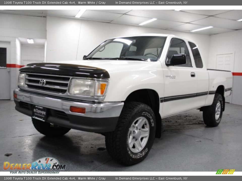 1998 toyota t100 truck dx extended cab 4x4 warm white. Black Bedroom Furniture Sets. Home Design Ideas