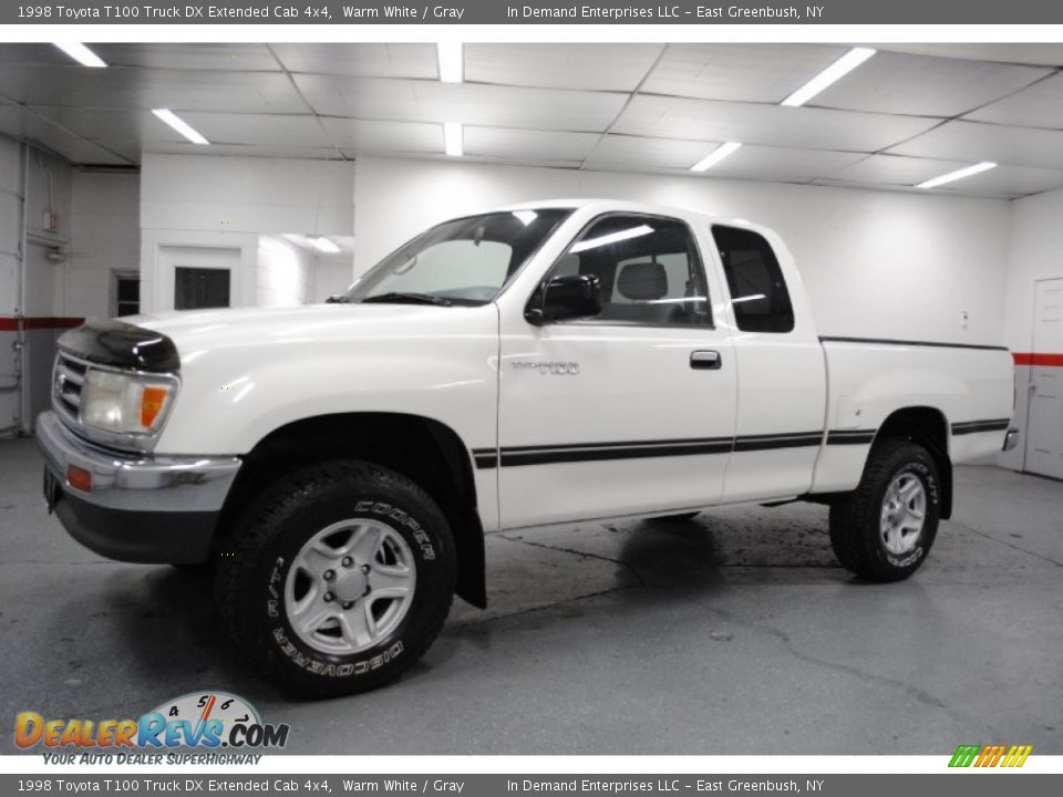 1998 Toyota T100 Truck Dx Extended Cab 4x4 Warm White Gray Photo