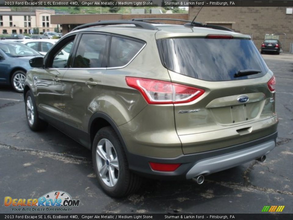 2013 ford escape se 1 6l ecoboost 4wd ginger ale metallic medium light stone photo 4. Black Bedroom Furniture Sets. Home Design Ideas