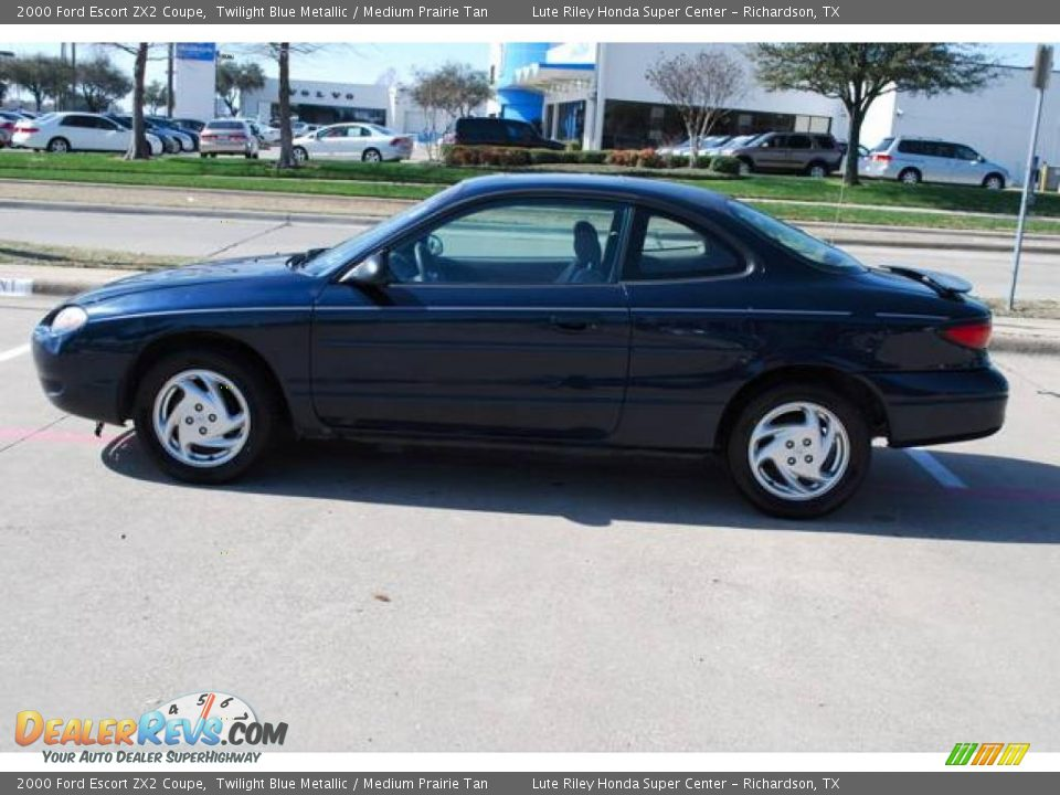 2000 ford escort zx2 coupe twilight blue metallic medium. Black Bedroom Furniture Sets. Home Design Ideas