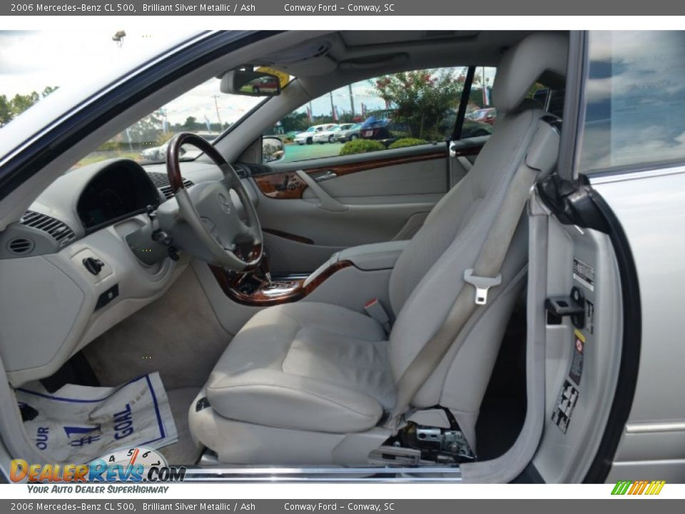 ash interior 2006 mercedes benz cl 500 photo 12. Black Bedroom Furniture Sets. Home Design Ideas