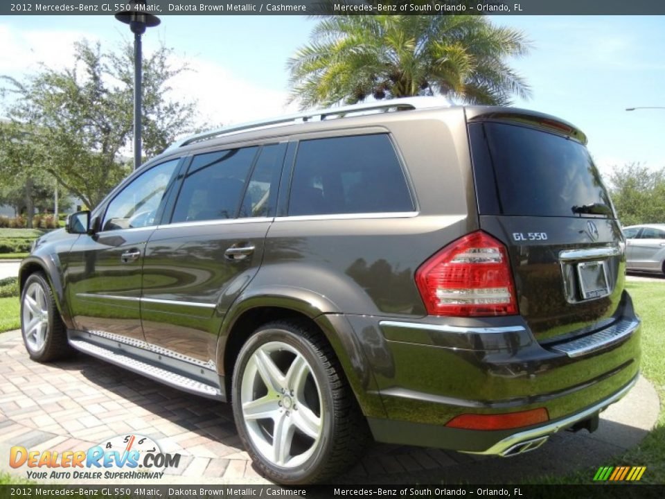 2012 mercedes benz gl 550 4matic dakota brown metallic for Mercedes benz 550 gl