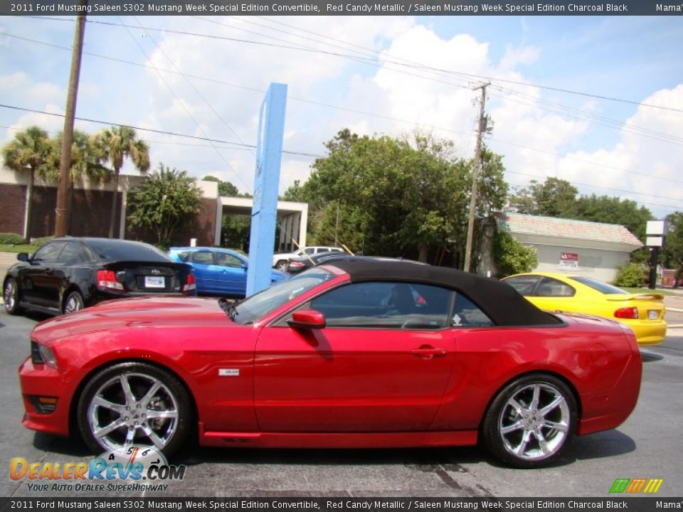 Red Candy Metallic 2011 Ford Mustang Saleen S302 Mustang Week Special Edition Convertible Photo #5