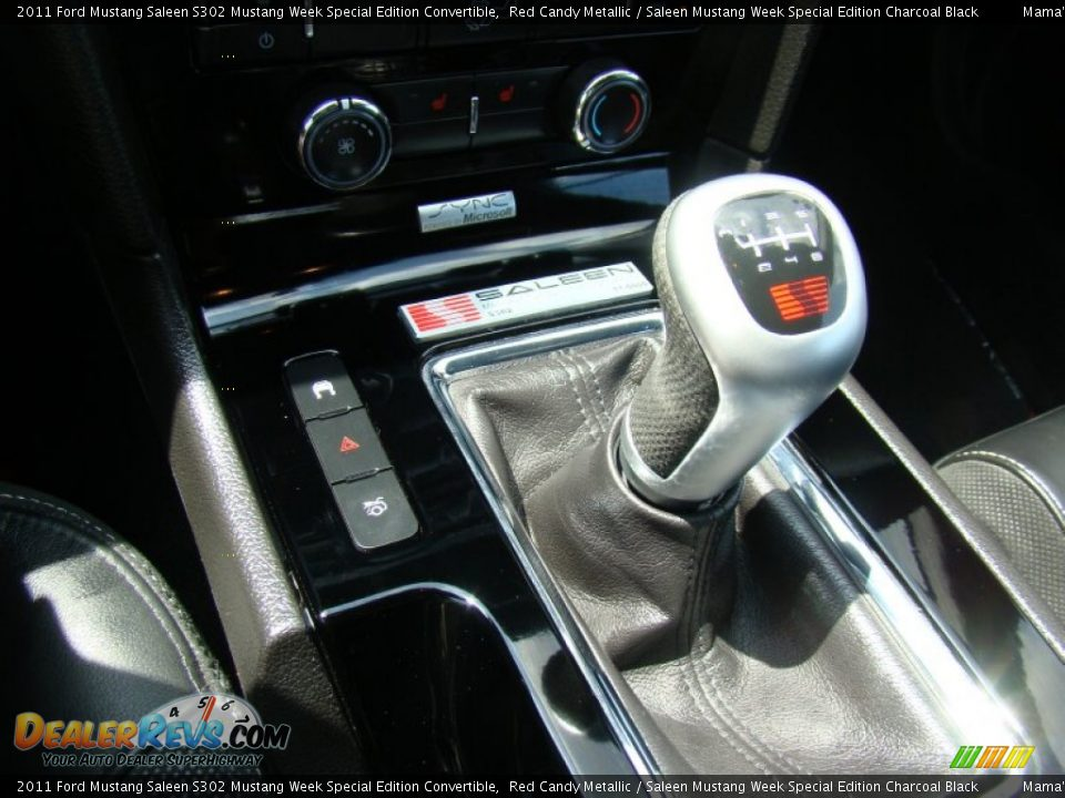 2011 Ford Mustang Saleen S302 Mustang Week Special Edition Convertible Shifter Photo #18