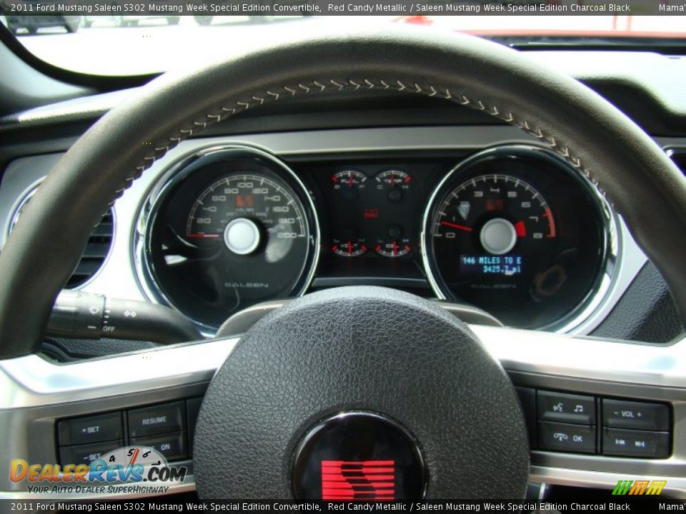 2011 Ford Mustang Saleen S302 Mustang Week Special Edition Convertible Gauges Photo #20
