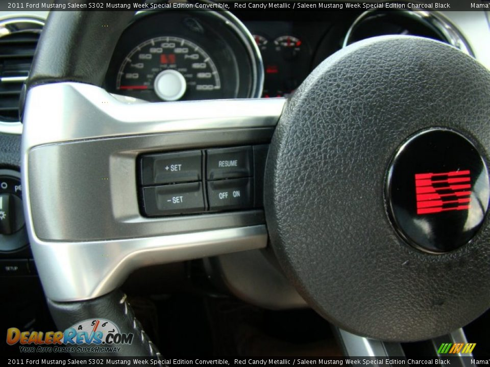 Controls of 2011 Ford Mustang Saleen S302 Mustang Week Special Edition Convertible Photo #21