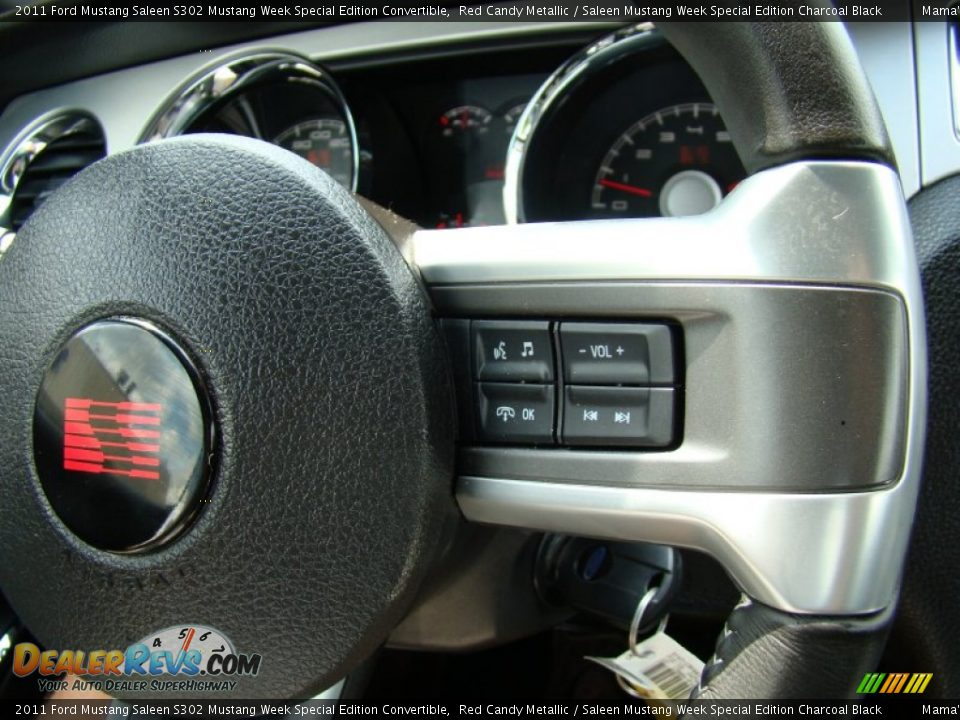 Controls of 2011 Ford Mustang Saleen S302 Mustang Week Special Edition Convertible Photo #22