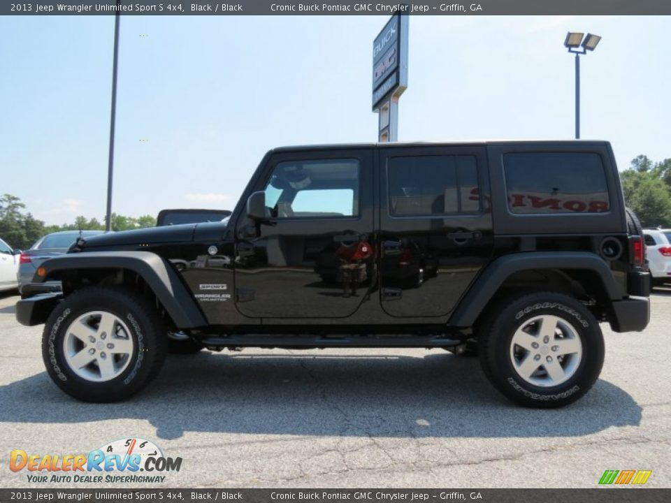 2013 jeep wrangler unlimited sport s 4x4 black black photo 4. Cars Review. Best American Auto & Cars Review