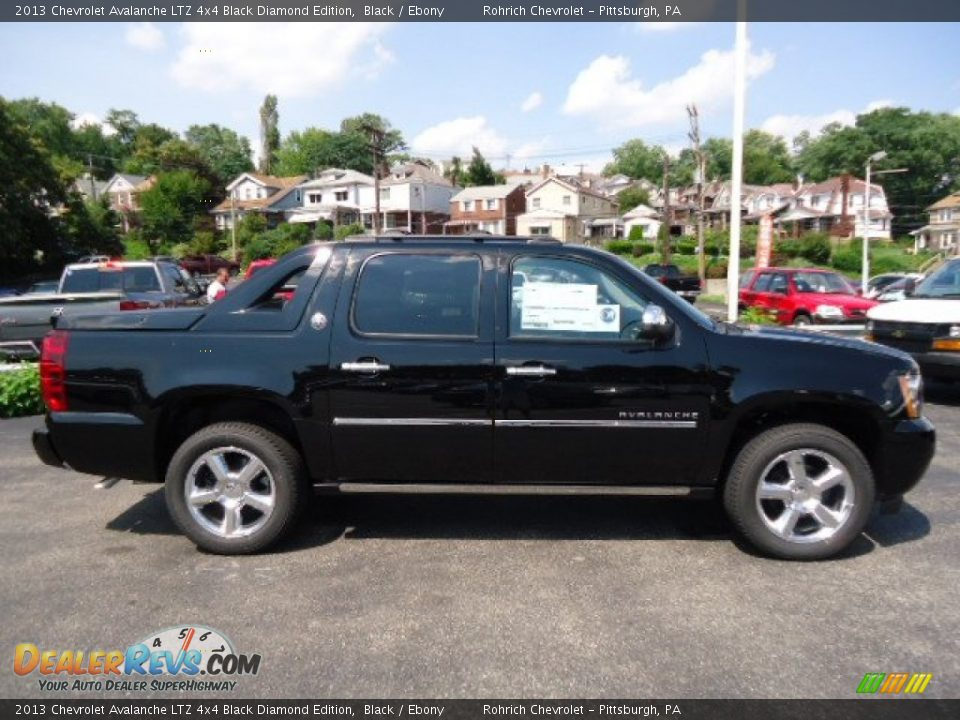 black 2013 chevrolet avalanche ltz 4x4 black diamond edition photo 5. Black Bedroom Furniture Sets. Home Design Ideas