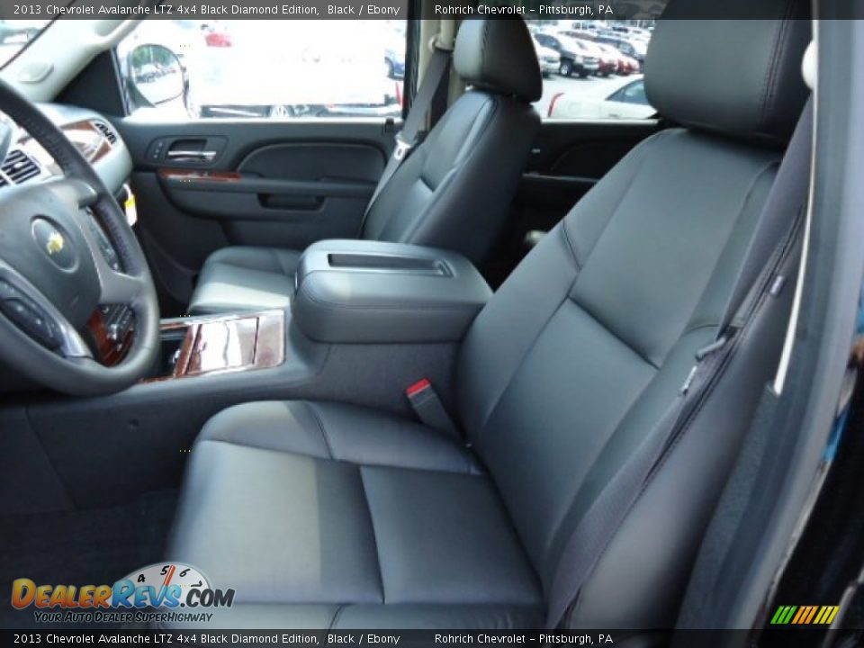 chevrolet avalanche interior ebony - photo #26