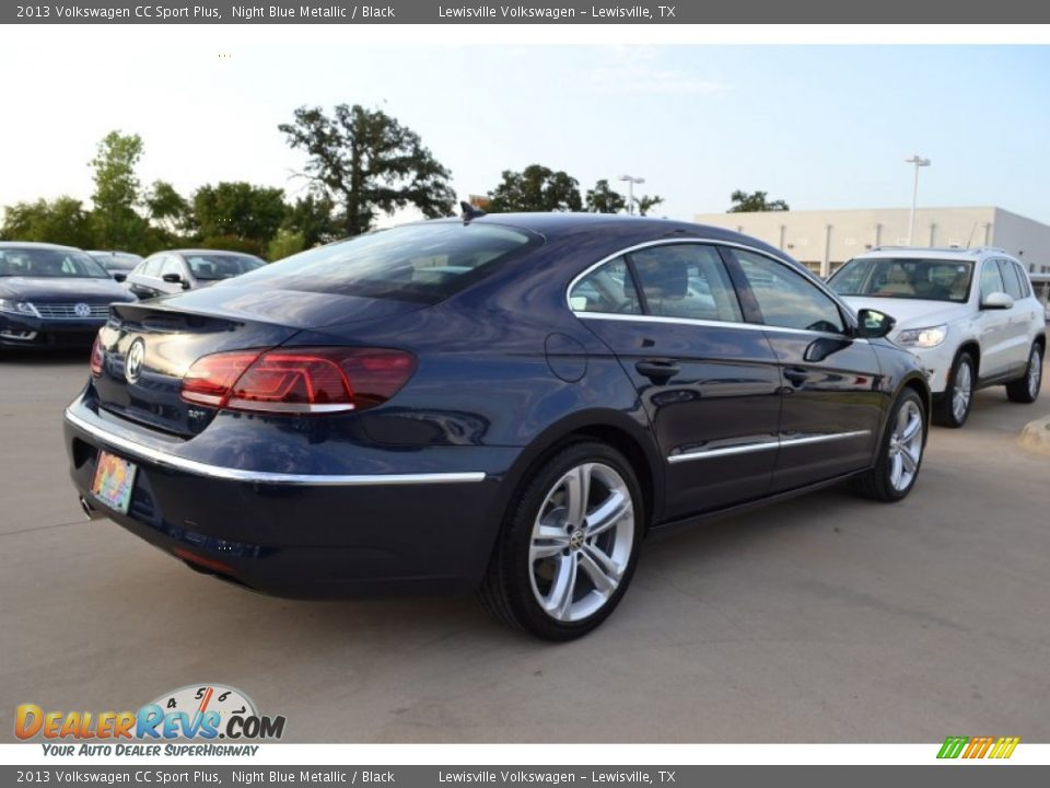 2013 volkswagen cc sport plus night blue metallic black photo 2. Black Bedroom Furniture Sets. Home Design Ideas