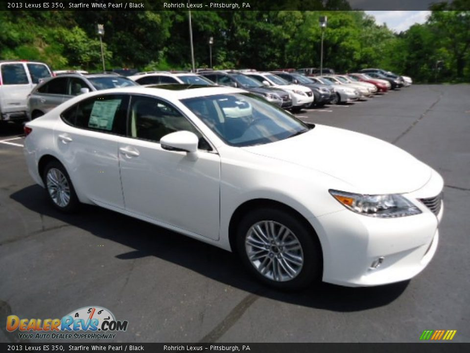 2013 Lexus ES 350 Starfire White Pearl / Black Photo #6 | DealerRevs ...