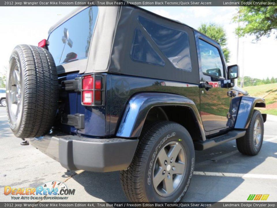 2012 Jeep Wrangler Oscar Mike Freedom Edition 4x4 True