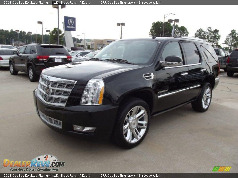 2013 Cadillac Escalade Platinum Awd Black Raven Ebony