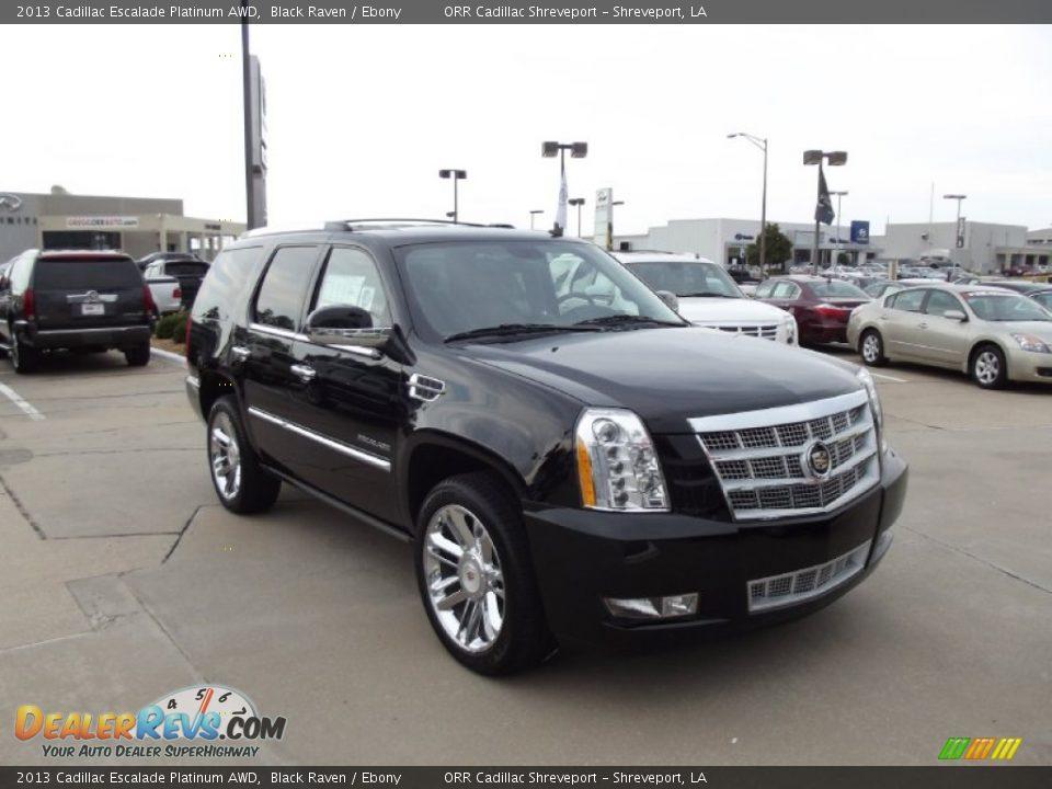 2013 Cadillac Escalade Platinum AWD Black Raven / Ebony ...