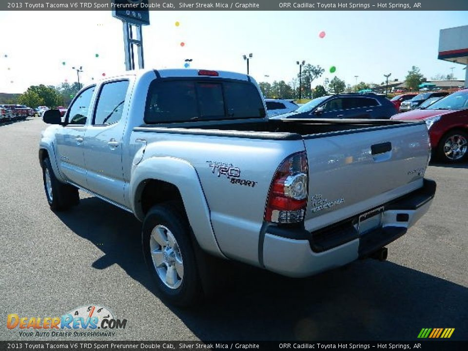 2013 toyota tacoma v6 trd sport prerunner double cab silver streak mica graphite photo 5. Black Bedroom Furniture Sets. Home Design Ideas