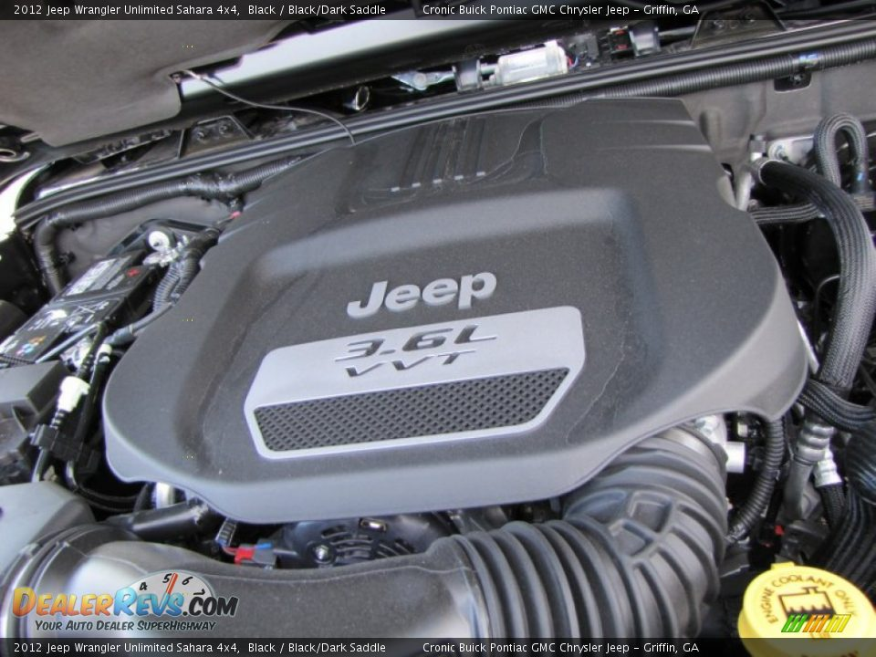 2012 jeep wrangler unlimited sahara 4x4 3 6 liter dohc 24 valve vvt pentastar v6 engine photo. Black Bedroom Furniture Sets. Home Design Ideas