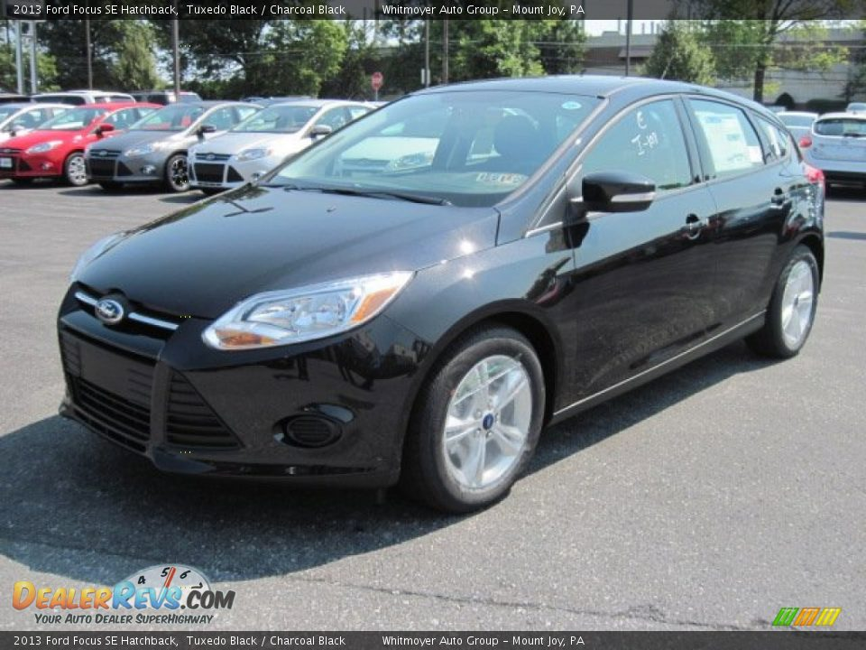 2013 ford focus se hatchback tuxedo black charcoal black photo 2. Black Bedroom Furniture Sets. Home Design Ideas