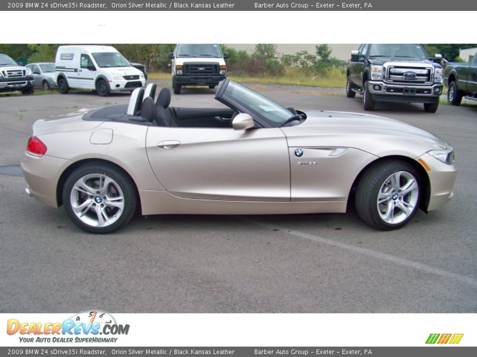 Orion Silver Metallic 2009 Bmw Z4 Sdrive35i Roadster Photo